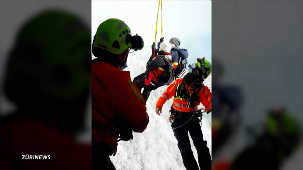Spektakuläre Heli-Evakuierung aus der Lungern-Turren-Gondel