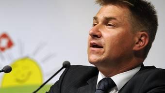 Die SGG verlangt von Toni Brunner eine Stellungnahme und eine Entschuldigung (Archiv)