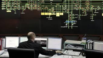 Kontrollraum für Gasexporet von Gazprom (Archiv)
