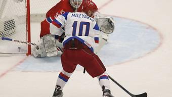 Sergej Mosjakin traf für Russland doppelt