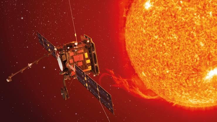 Die Raumsonde «Solar Orbiter» enthält das Röntgenteleskop STIX, das an der FHNW Brugg-Windisch entwickelt wurde.