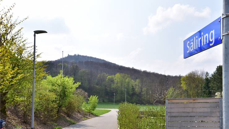 Der Säliring in Starrkirch-Wil soll moderne LED-Strassenlampen mit Bewegungsmeldern erhalten. Bruno Kissling