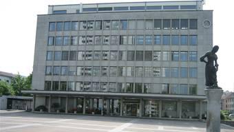 Das Wettinger Rathaus.