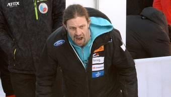 Seit Sommer 2014 sorgt der Österreicher Wolfgang Stampfer bei den Schweizer Bob-Teams für Dampf – seither ging es mit Rico Peter aufwärts.