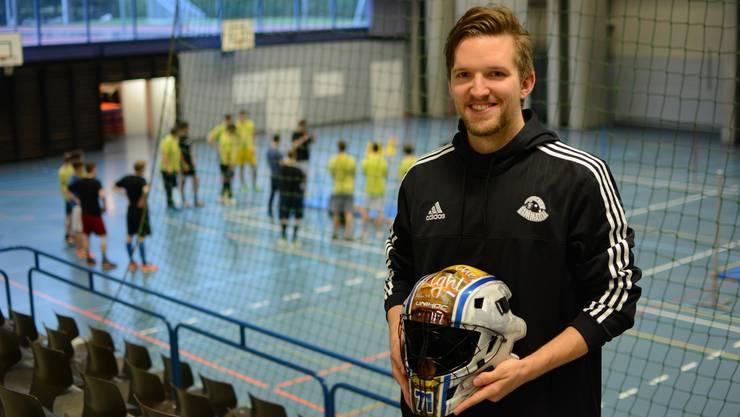 Jonas Wittwer freut sich auf seine Zukunft in Urdorf.