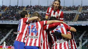 Atletico hatte in Elche zwei Tore zu bejubeln