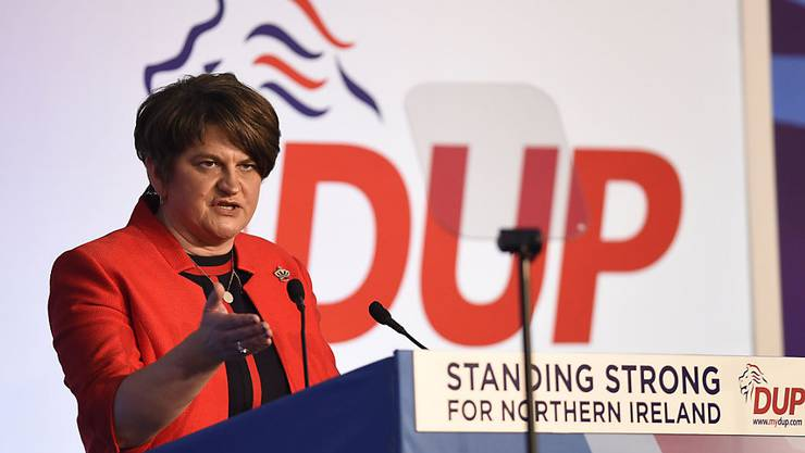 Will vorwärtsmachen in Nordirland: DUP-Chefin Arlene Foster (in einer Aufnahme vom November 2018).