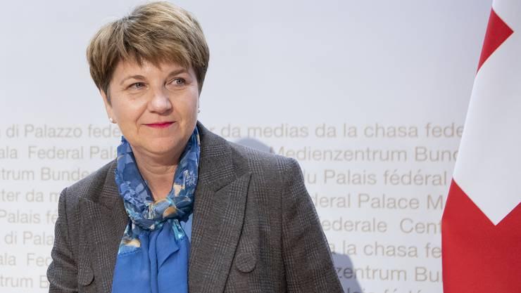 Viola Amherd (CVP): Departement für Verteidigung, Bevölkerungsschutz und Sport (VBS)