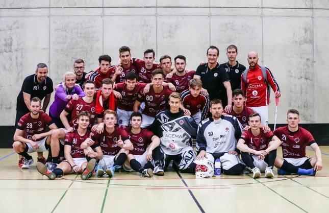 Zweiplatzierter Stöckli Unihockey Challenge - Sparta Praha