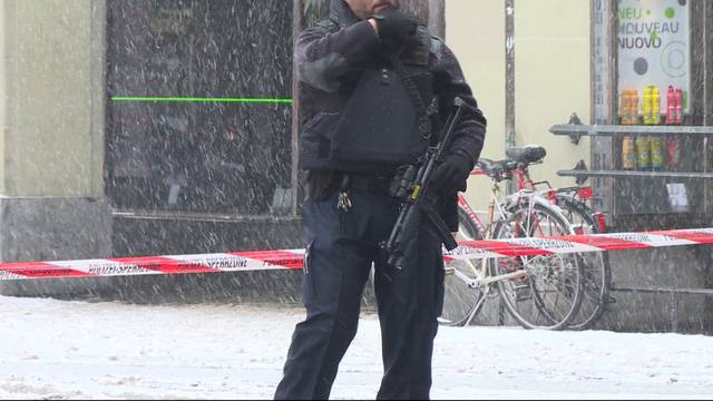 Grosseinsatz wegen Bombendrohung in Bern