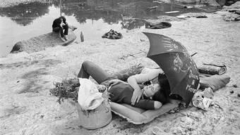 Love-In auf der Zürcher Allmend im Jahr 1967