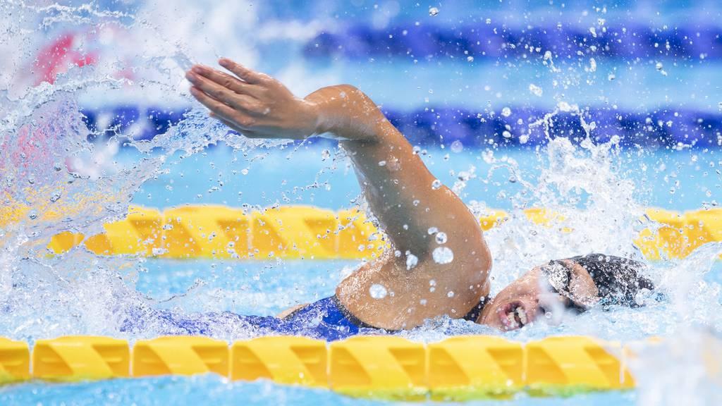 Aargauerin Nora Meister gewinnt Bronzemedaille über 400 Meter Freistil