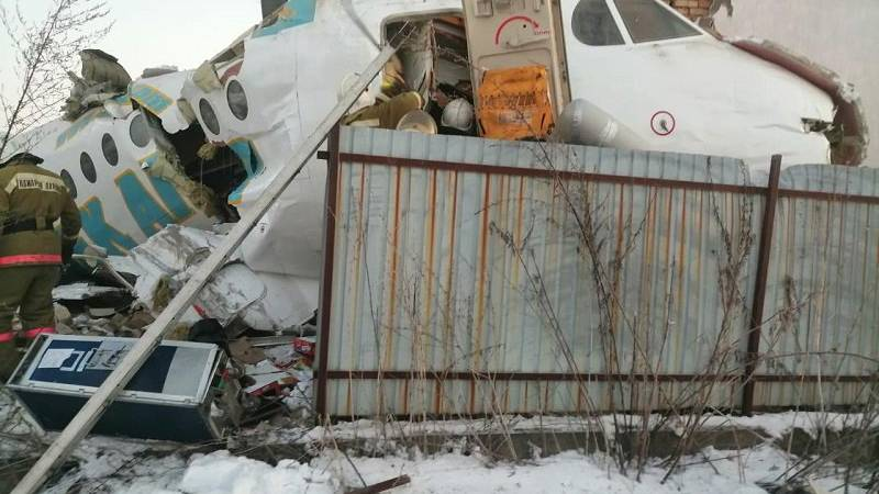 Mindestens 12 Tote bei Flugzeugabsturz