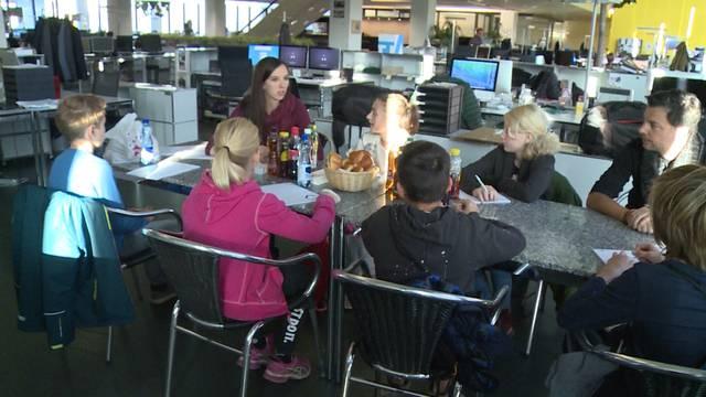 Zukunftstag: Jugendliche besuchen Altersheim