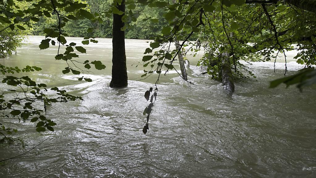 Schaffhauser Gemeinden erhalten in Zukunft mehr Geld für kommunale Hochwasserschutzprojekte. (Symbolbild)