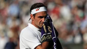 Roger Federer steht zum zwölften Mal im Wimbledon Final.