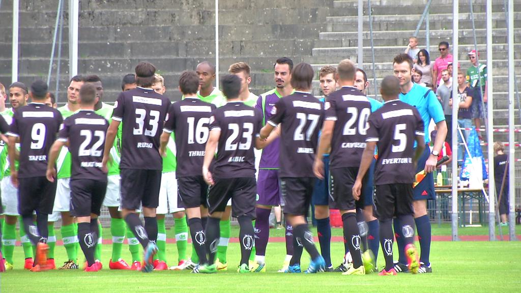 FCSG vs. Wolfsburg