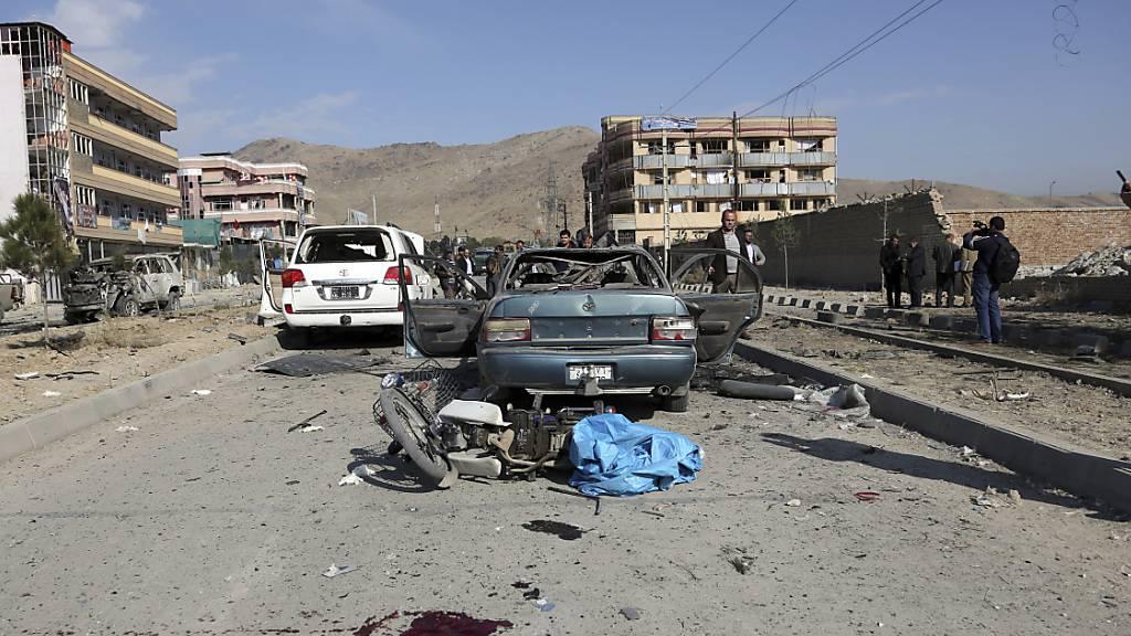 Zahlreiche Tote bei Autobombenanschlag