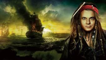 Geschäfte in der Karibik holen UBS-Chef Sergio Ermotti ein: Plakat aus dem Film «Pirates of the Caribbean – Fremde Gezeiten». Foto: HO, Montage: MTA