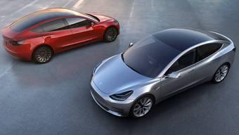 Elektroauto für die Masse: Mit dem erschwinglichen Model 3 stösst Tesla erstmals in die Mittelklasse vor.