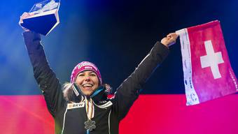 Nach dem Sieg in der Kombination holt Wendy Holdener Silber im Slalom.