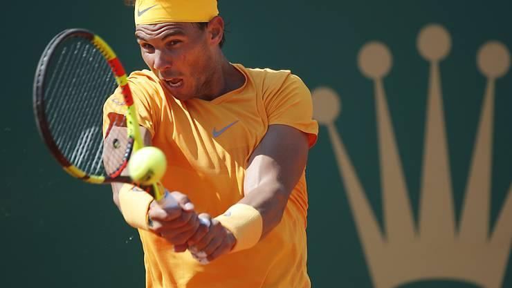 Rafael Nadal unterstreicht in Monte Carlo seine Dominanz auf Sand