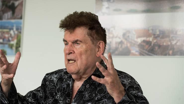 Peter Buser erläutert im Interview, wie er zum Unterstützer des TV Grenchen wurde.