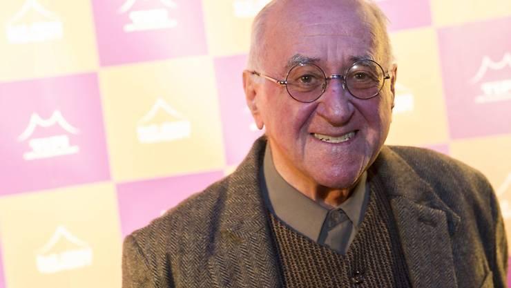 """Der frühere Moderator Alfred """"Bio"""" Biolek (82) würde gern noch mal New York besuchen, aber """"es geht einfach nicht mehr"""". (Archivbild)"""