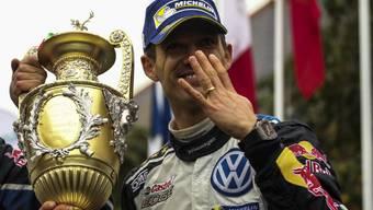 Der vierfache Weltmeister Sébastien Ogier steuert in Zukunft einen Ford Fiesta