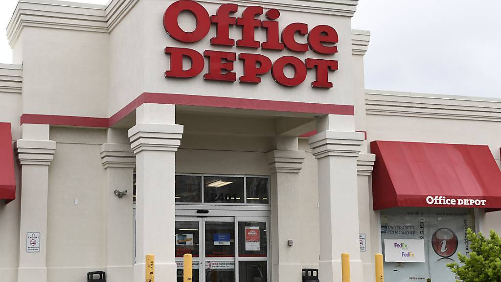 US-Büroartikelhersteller Office Depot will 13'000 Jobs streichen