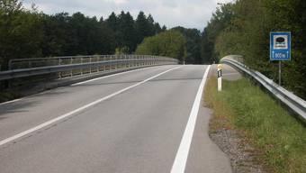 Die Autobahnbrücke liegt gänzlich auf Berner Staatsgebiet.