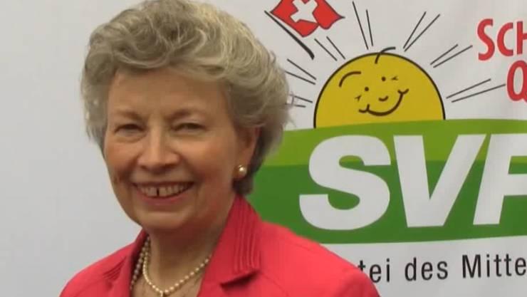 Erlitt einen Schwächeanfall SVP-Gemeinderätin Hedy Schlatter.