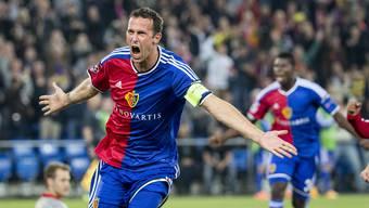 Marco Streller bejubelt seinen Treffer zum 1:0-Sieg gegen den FC Liverpool
