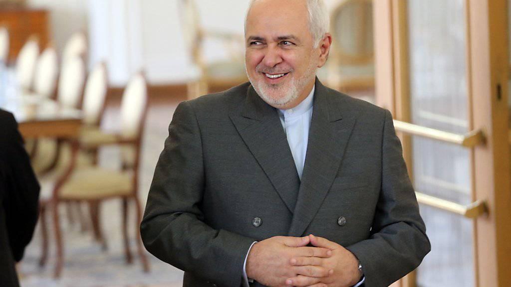 Der iranische Aussenminister Mohammed Jawad Sarif ist selber von US-Sanktionen betroffen. (Archiv)