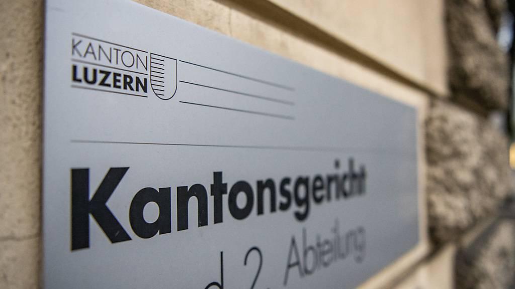 Die Abteilungen des Luzerner Kantonsgerichts konnten ihren Pendenzenberg im Covid-Jahr 2020 weiter abbauen. (Archivbild)