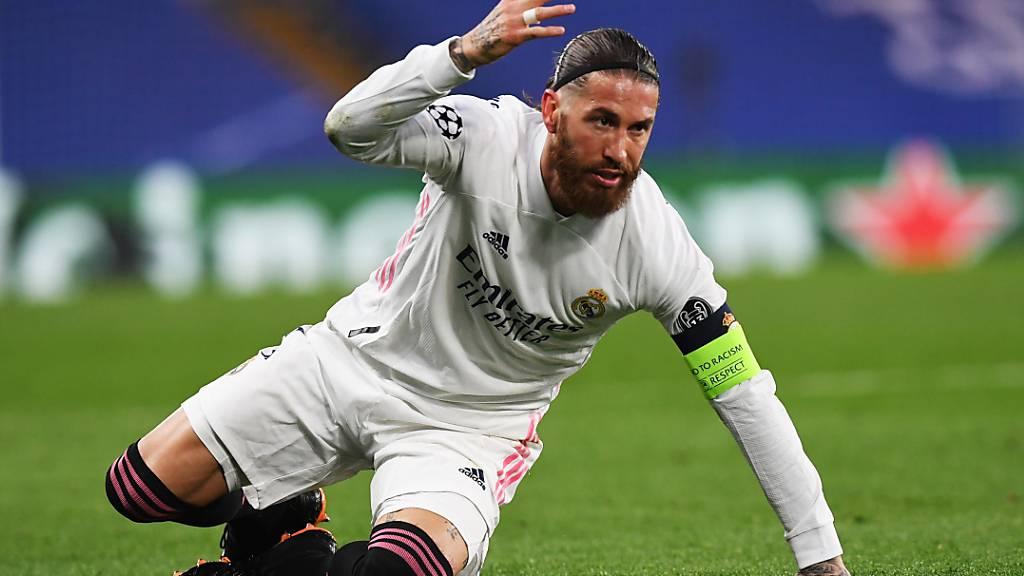 Spanien ohne Sergio Ramos an die EM