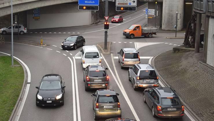 Mit dem Projekt «Ostaargauer Strassenentwicklung» soll das Zentrum Brugg dereinst vom Verkehr entlastet werden.