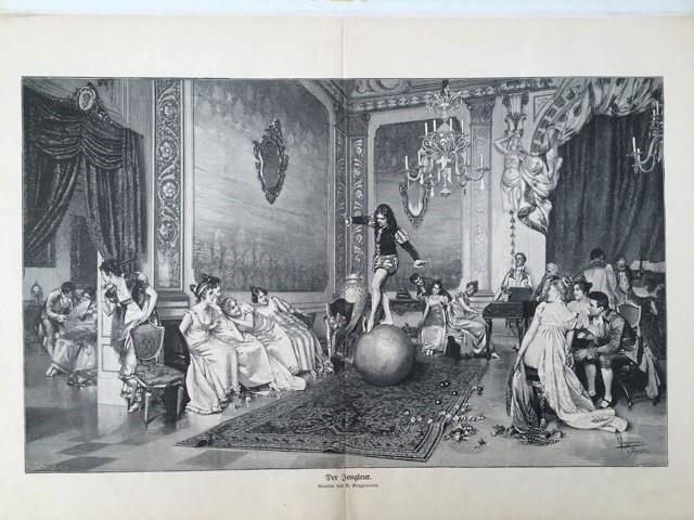 Vater Knie,, Leibarzt vonn Maria Theresia am kaiserlichen Hof in Wien (© kniemusical.ch)