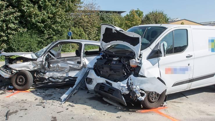 Vortritt nicht gewährt: Der 87-jährige Lenker des Personenwagens überlebte den Unfall in Arbon nicht.