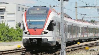 Heute verkehren die Züge nur bis Laufenburg. Fricktal Regio und Zurzibiet Regio wollen, dass die Züge bis nach Koblenz fahren.