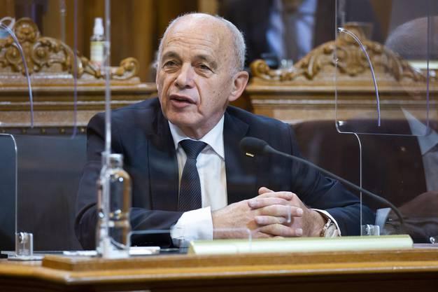 Unkomplizierte Hilfe: Finanzminister Ueli Maurer.