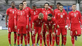Das Schweizer U21-Nationalteam strebt am Samstagabend gegen England einen Sieg an