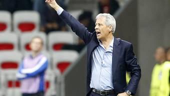Auf gutem Weg: Nice und sein Trainer Lucien Favre