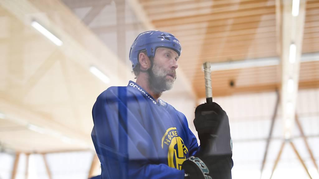 Joe Thornton war mit Davos Schweizer Meister, er gewann aber noch nie den Stanley Cup.