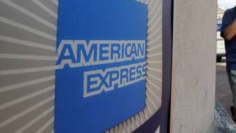 Logo der US-Kreditkartenfirma American Express (Symbolbild)