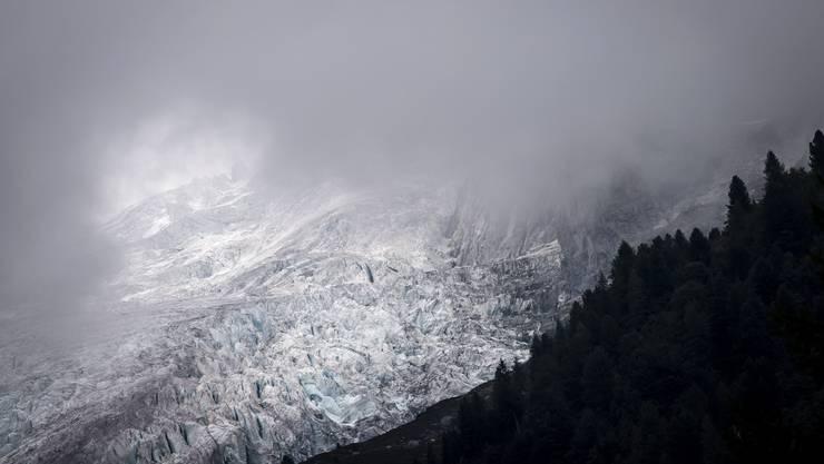 Schwindende Schönheiten: die Schweizer Gletscher.