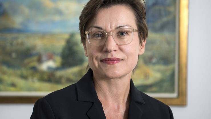Botschafterin Mirjana Spoljaric Egger am Freitag in Bern.