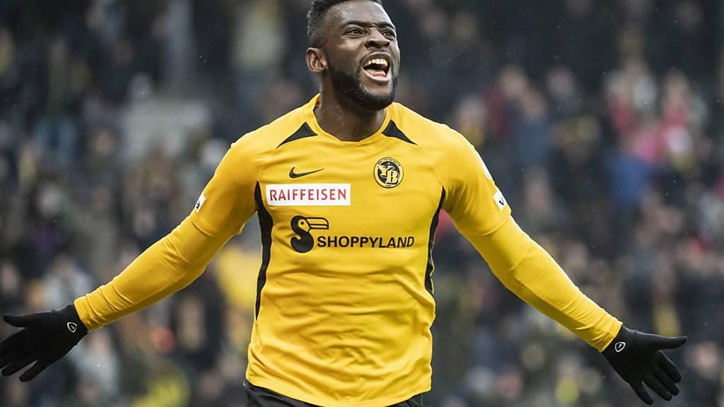 Jean-Pierre Nsame jubelt in dieser Saison ein ums andere Mal