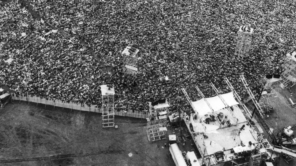 50 Jahre nach dem Woodstock-Festival soll die legendäre Grossveranstaltung an gleichem Ort eine Wiederauflage erlangen. (Archivbild)