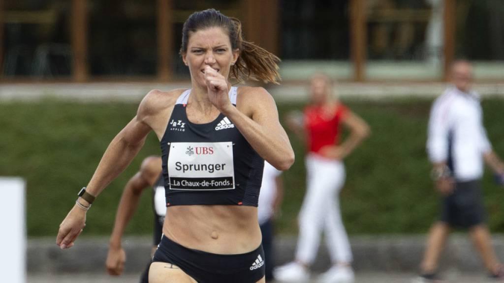Lea Sprunger über den Erwartungen, Reais mit U23-Rekord
